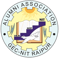 gec-nit raipur alumni association logo